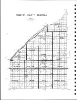 Hamilton County Highway Map, Hamilton County 1985